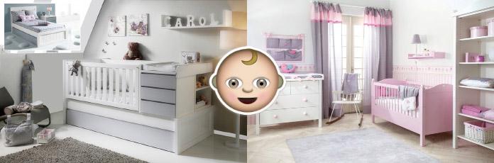 Cunas bebé decoración