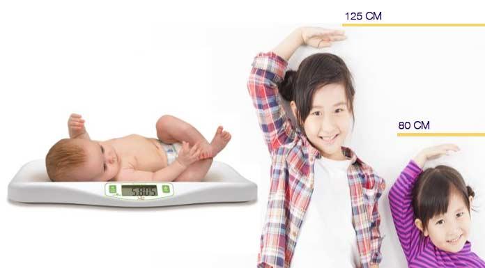 medidas y peso de un bebe de 2 meses