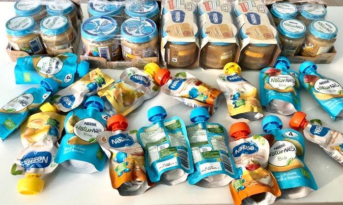 Potitos Nestle Sin azúcares añadidos