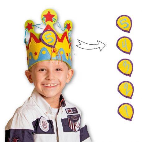 corona cumpleanos